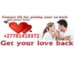 APPROVED RETURN LOST LOVE SPELLS/ BLACK MAGIC & CURSE REMOVAL +27781419372
