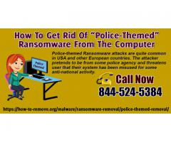 How To Remove Police-themed Ransomware (Virus Removal Guide)